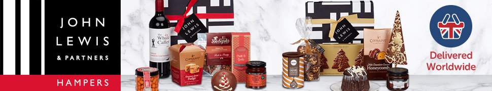 John Lewis Gift Hampers Delivered Worldwide