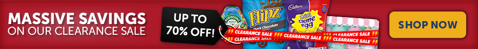 Massive savings in our stock clearance sale