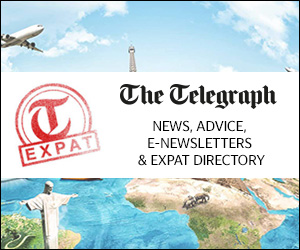 The Telegraph - News Advice, e-newsletters and Expat Directory