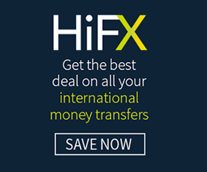 HiFX International Currency Transfers