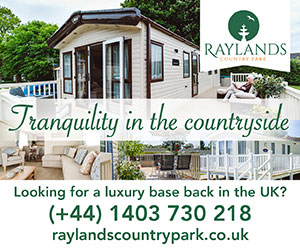 Raylands Country Park - Your base back in the UK