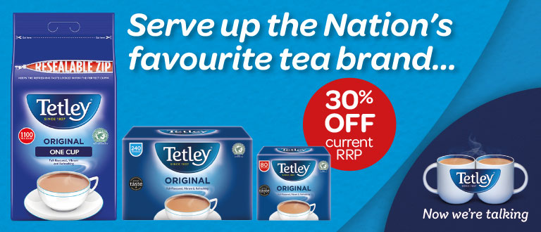 30% Off Tetley Tea