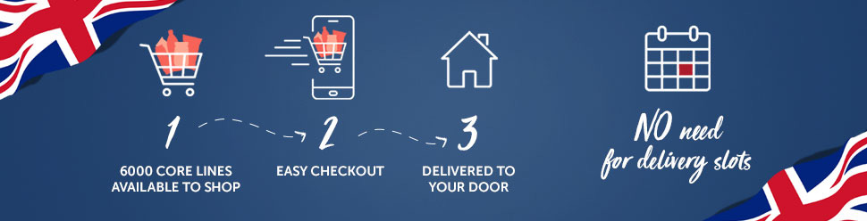 Supermarket Delivery service in the UK
