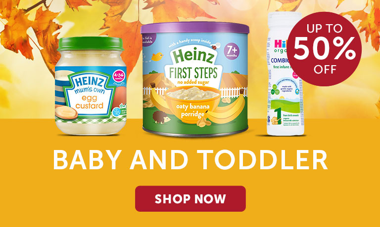 50% off Baby And Toddler
