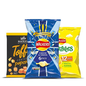 Browse Crisps / Snacks