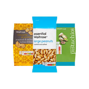 Browse Waitrose Snacks