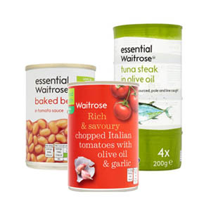 Browse Waitrose Tinned Food