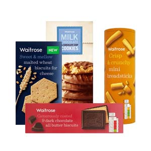 Browse Waitrose Biscuits