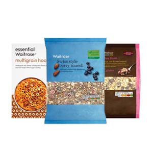 Browse Waitrose Cereals