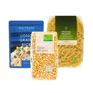 Browse Waitrose Rice/Pasta