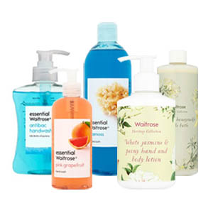 Browse Waitrose Toiletries