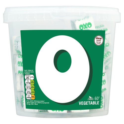 Oxo Vegetable Stock Cubes x 60