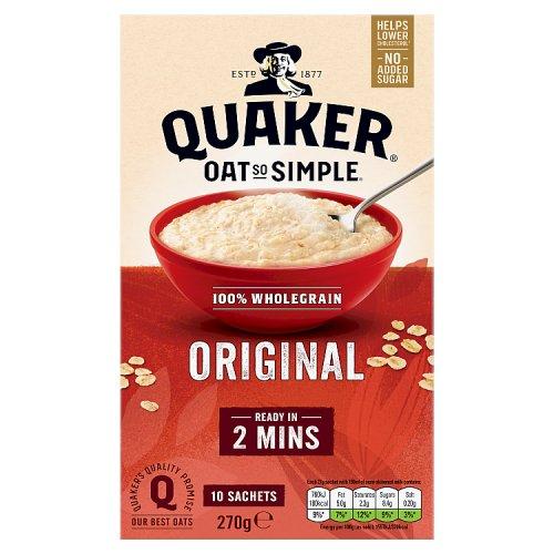 Quaker Oat So Simple Original