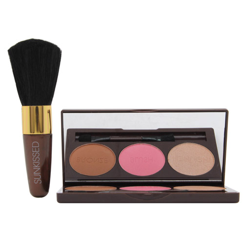 Sunkissed Bronze and Contour Gift Set 3.5g Bronzer + 3.5g Blush + 3.5g Highlight