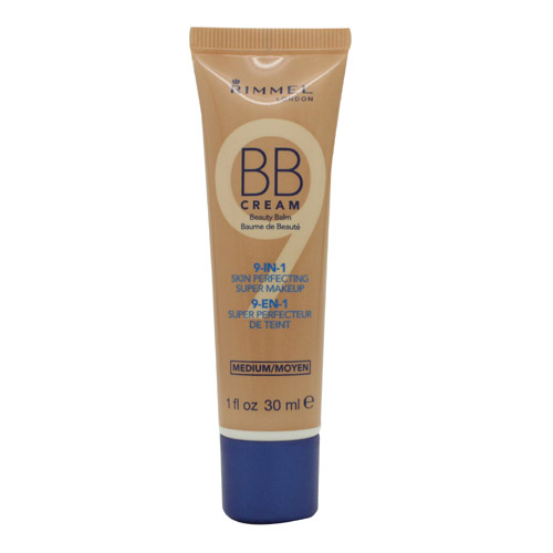 Rimmel BB Cream 9 in 1 Super Makeup Skin Perfecting 30ml - Medium