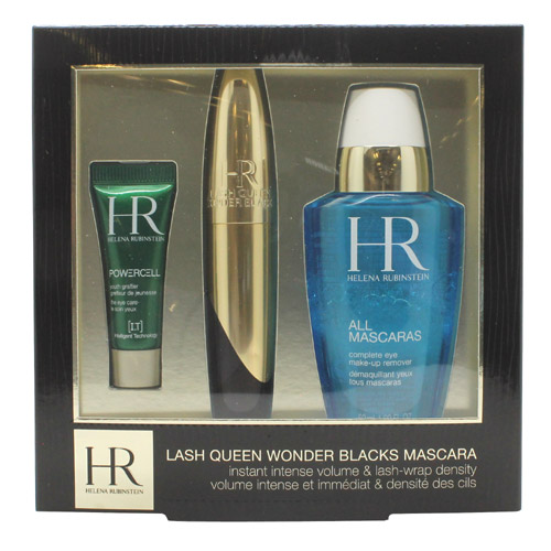 Helena Rubinstein Lash Queen Wonder Blacks Mascara Gift Set 7ml Mascara +  50ml A