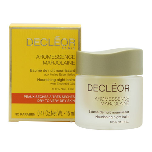 Decleor - Aromessence Marjolaine Nourishing Night Balm (Dry to Very Dry Skin) -15ml/0.5oz Aroma Crystal Vibrational Therapy Gardeners Dream Cream - 3 Oz