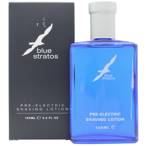 Parfums Bleu Limited Blue Stratos Pre Electric Shaving Lotion 100ml