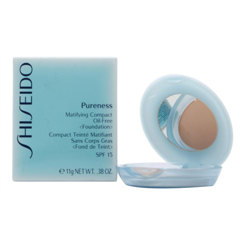 Shiseido Pureness Matifying Compact Oil-free Powder Foundation SPF15 Natural Bei