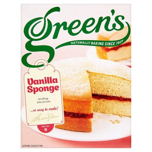 Greens Sponge Cake Mix