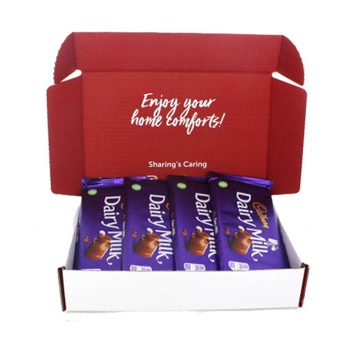 Brit Kit Letterbox - Cadbury Dairy Milk