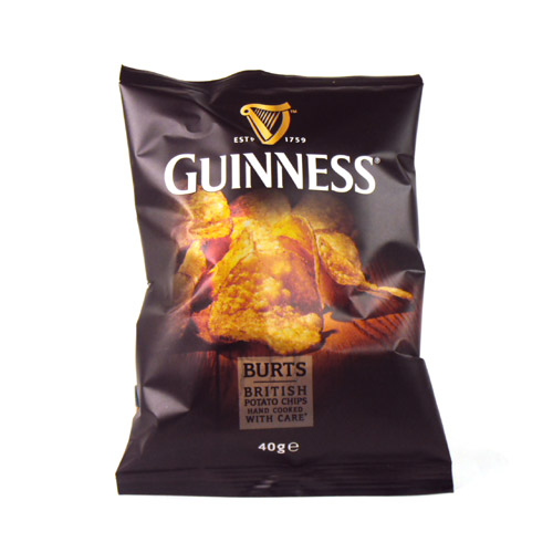 Burts Vintage Guinness Potato Chips X20