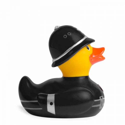 Deluxe Large Constable Rubber Duck