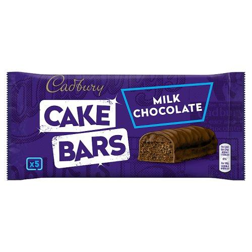 Cadbury Chocolate Cake Images : Cadbury Milk Chocolate Cake Bars 5 Pack