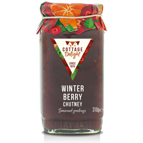 Cottage Delight Winter Berry Chutney