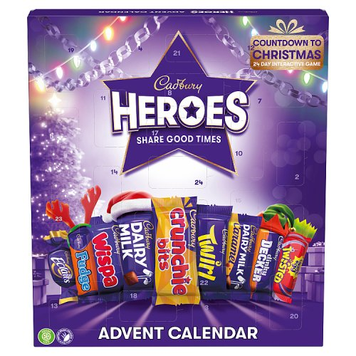 Cadbury Heroes Advent Calendar