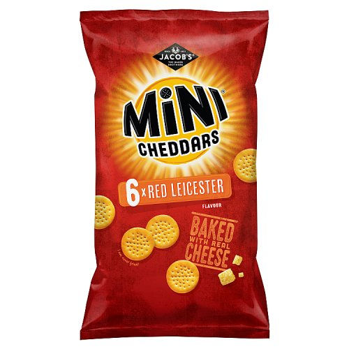 Mini Cheddars Red Leicester 6 Pack
