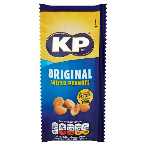 Kp Original Salted Peanuts Small Pack
