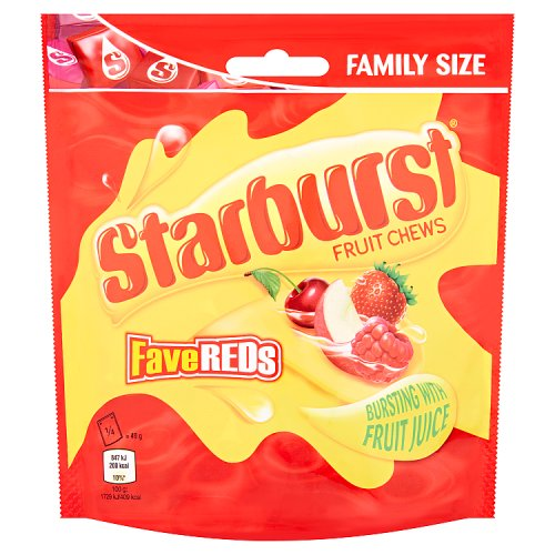 Starburst Fruity Chews Fave Reds Pouch