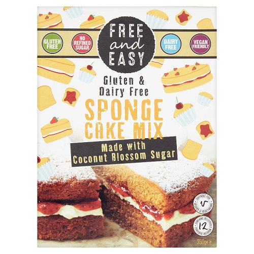 Free and Easy Gluten Free Sponge Cake Mix