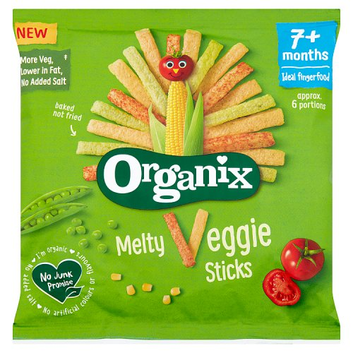 Organix Melty Veggie Sticks