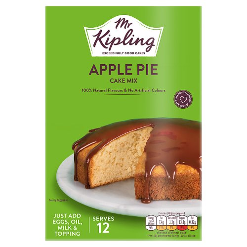 Mr Kipling Apple Pie Sponge Cake Mix