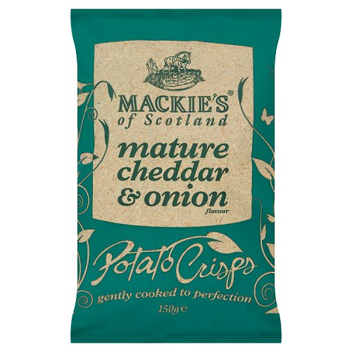 Mackies Mature Cheddar & Onion Crisps