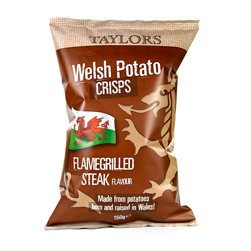 Taylors Flamegrilled Steak Welsh Crisps
