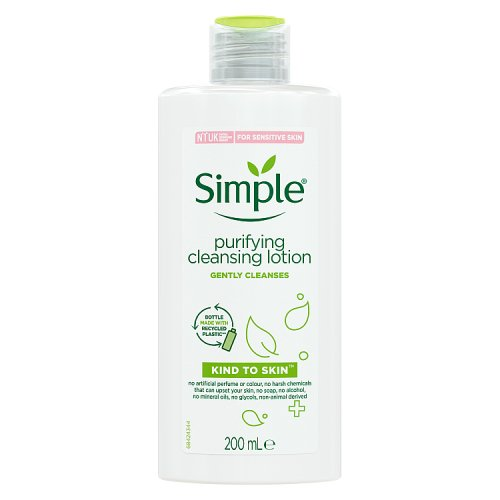 Simple Kind to Skin Purifying Cleanse Lotion