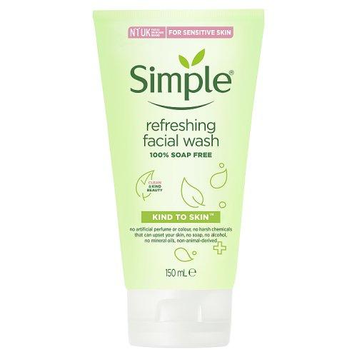 Simple Kind To Skin Refresh Wash Gel