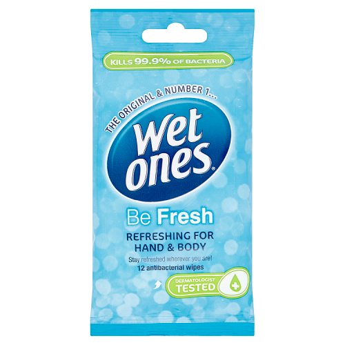 Wet Ones Cooling Wipes 12 Pack