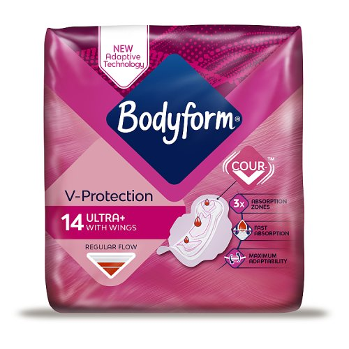 Bodyform Ultra Fit Normal Wings 14 Pack