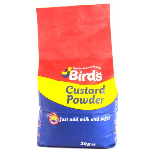 Birds Custard Powder Add Milk 3kg