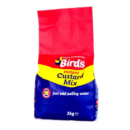 Birds Instant Custard Mix Add Water 3kg