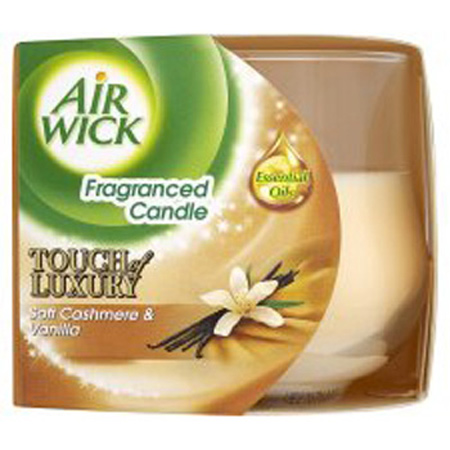 Airwick Candle Ribbons Soft Cashmere