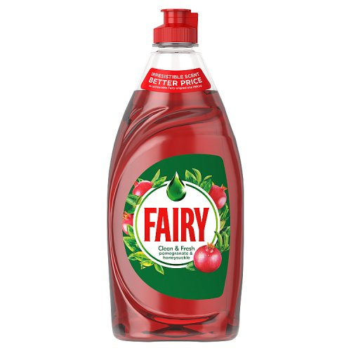 Fairy Liquid Pomegranate & Honeysuckle