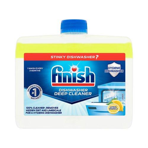 Image of Finish Dishwasher Cleaner Lemon
