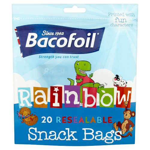 Image of Baco Rainbow Snack Bag 20s
