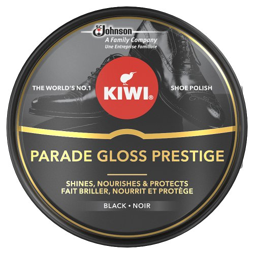 Image of Kiwi Black Parade Gloss Shoe Polish