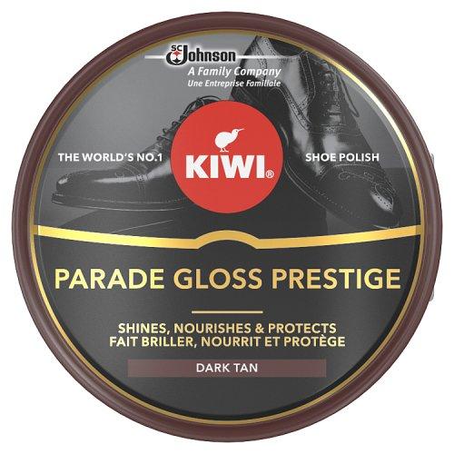 Kiwi Dark Tan Parade Gloss Shoe Polish